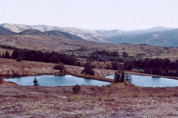 Lacs bleus