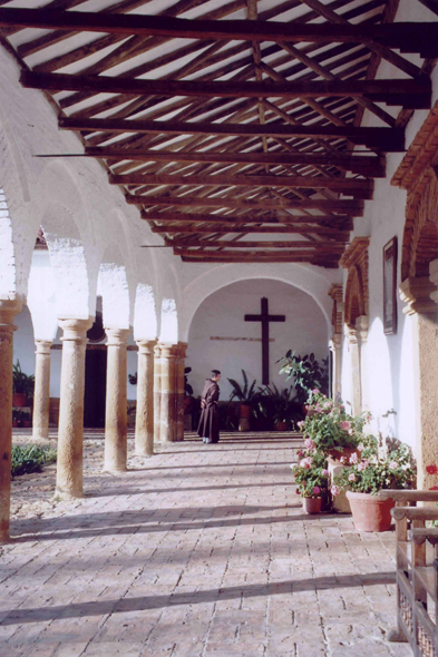 Colombia, the magnificent monastery Ecce Homo