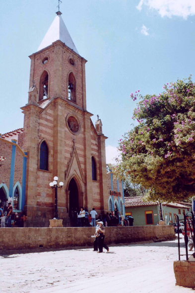 Raquira, église