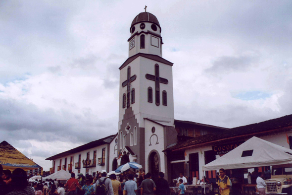 The church of Salento, Colombia