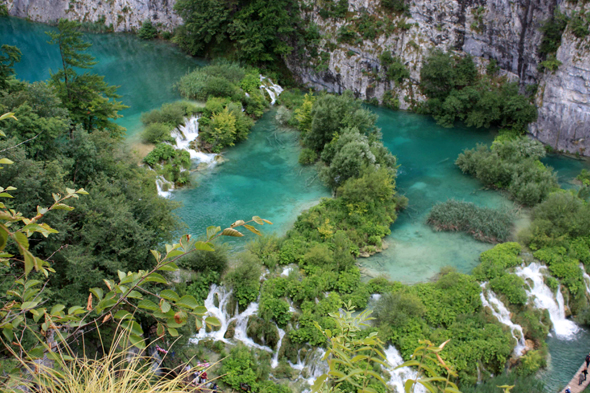 Croatia, lake of Plitvice
