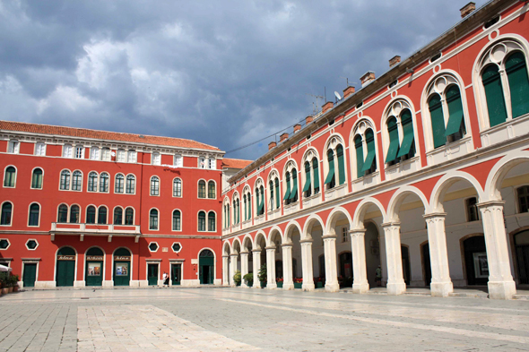 Split, plaza Trg Republike