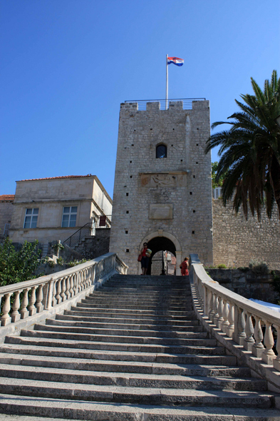 Korcula, tower Veliki Revelin