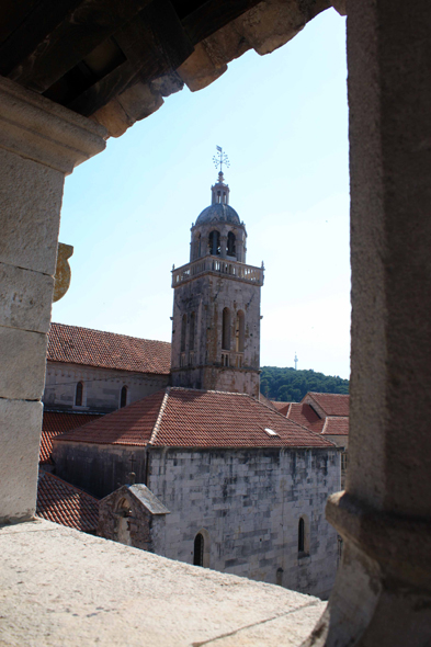 Korcula, cathedral St. Mark, bell tower