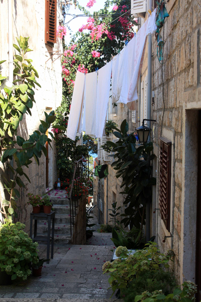 Alley, Korcula city