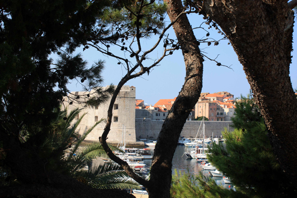 Dubrovnik, ramparts, view