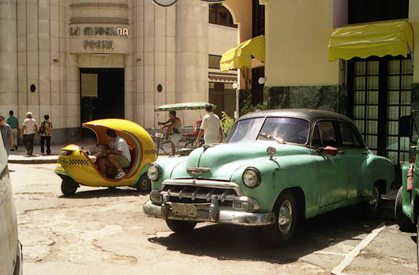 Havana, old car