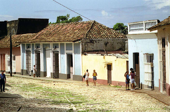 Cuba, Trinidad, coloured houses