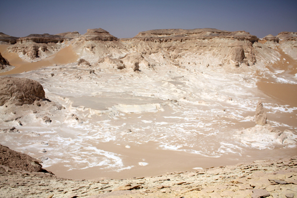 View, Sahara, Egypt, White Desert