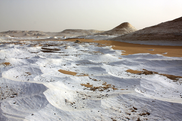 White Desert, Egypt, magnificent landscape