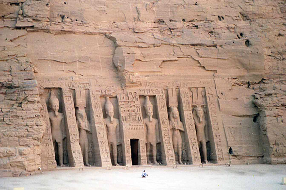 Abu Simbel, temple of Hathor