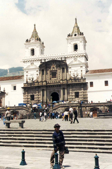 Quito, place San Francisco