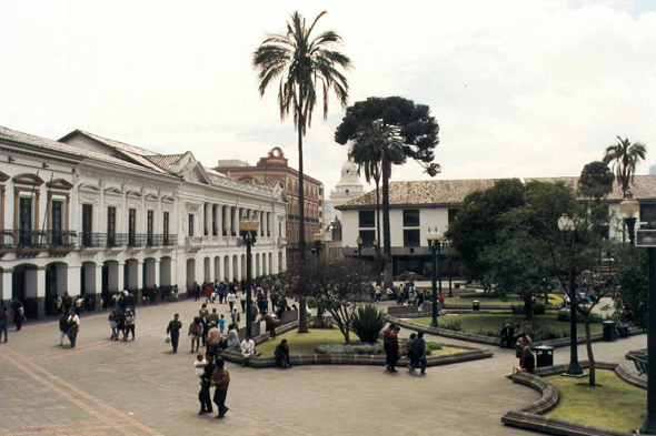 Plaza de la Independencia, Quito, Equateur