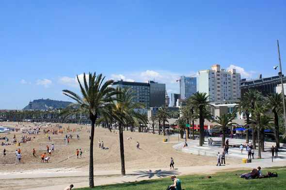 Barcelone, Plage