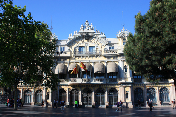 Barcelona, Building of the Customs