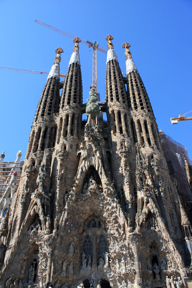 Sagrada Familia, view