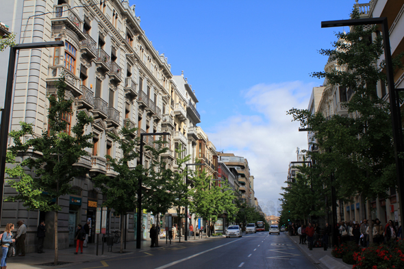 Gran via del Colon, Granada