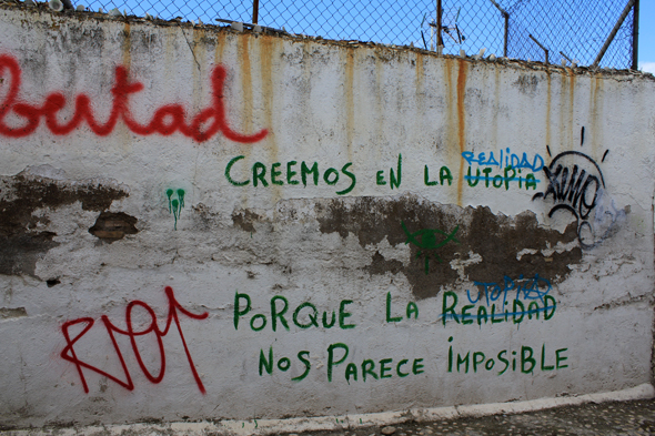 Granada, graffiti, wall