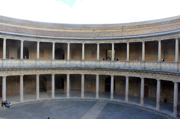 Alhambra, palace of Charles V