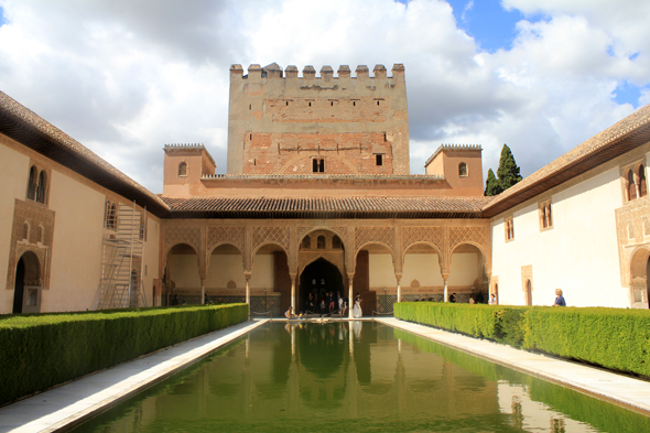 Alhambra, court of the Myrtles