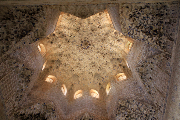 Alhambra, hall of the Abencerrajes