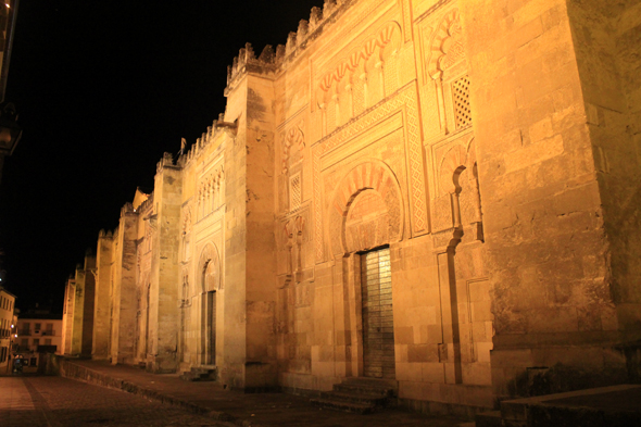 Cordoba, mosque, night