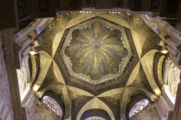 Cordoba, mosque, dome