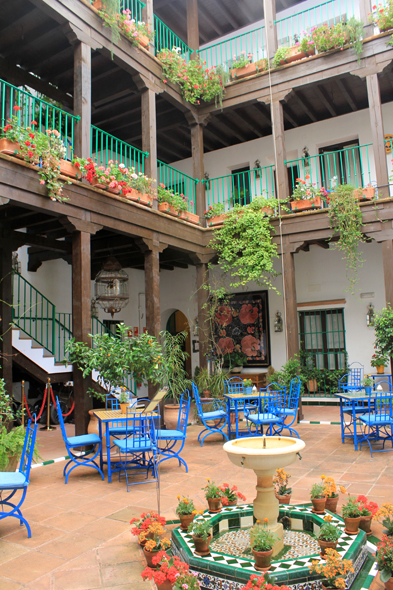 Patio, hotel, Seville