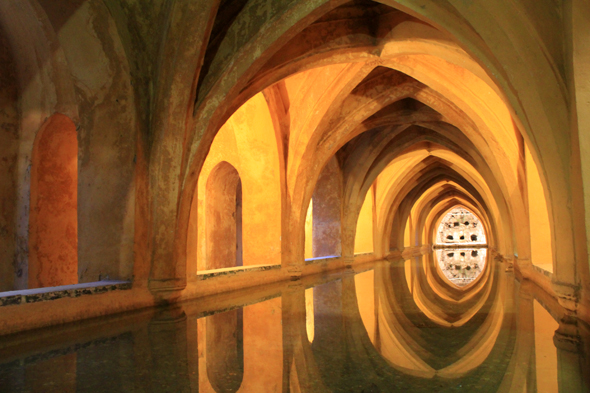 Seville, Alcazar, baths