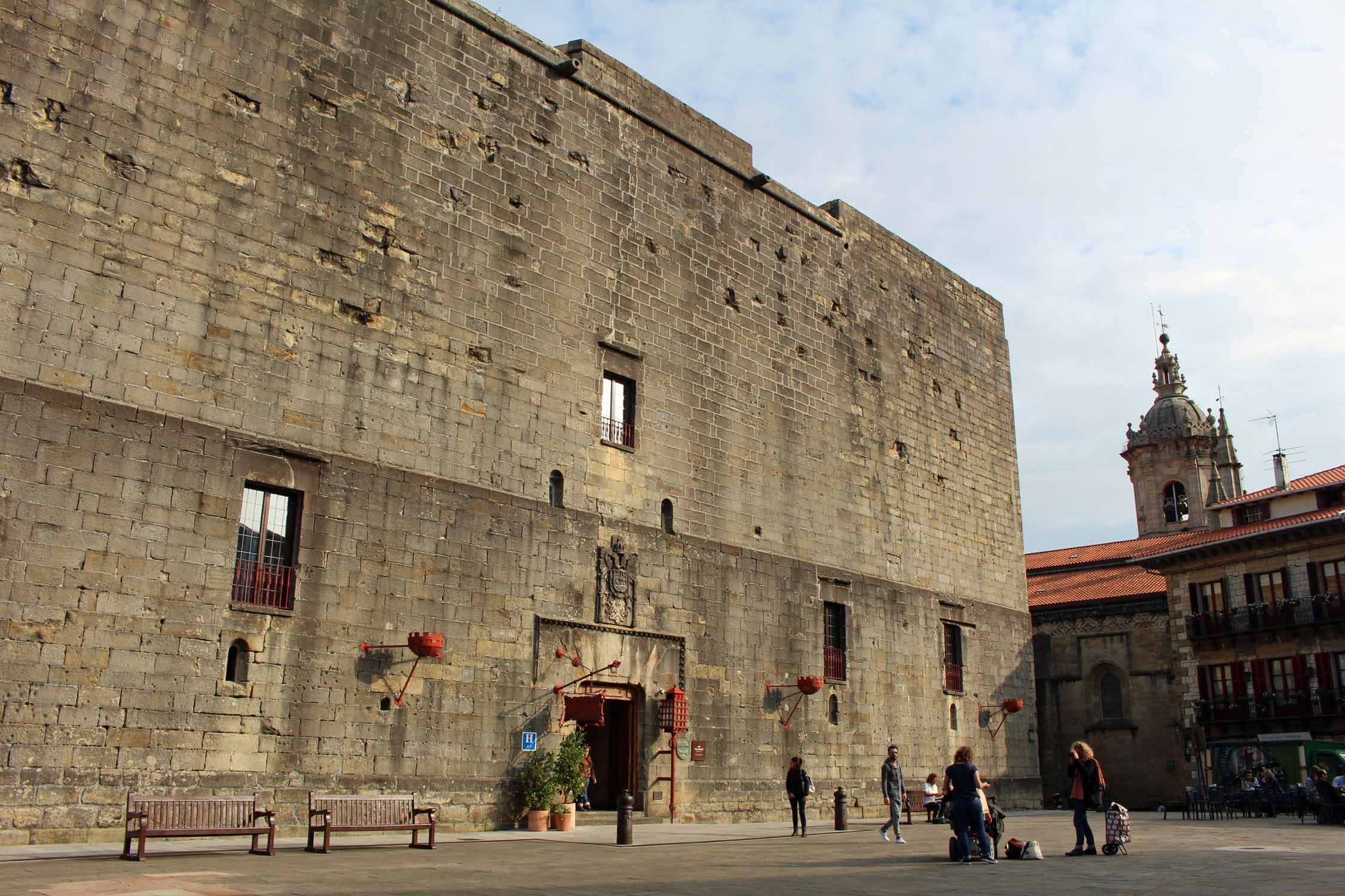 Hondarribia, castle of Charles V