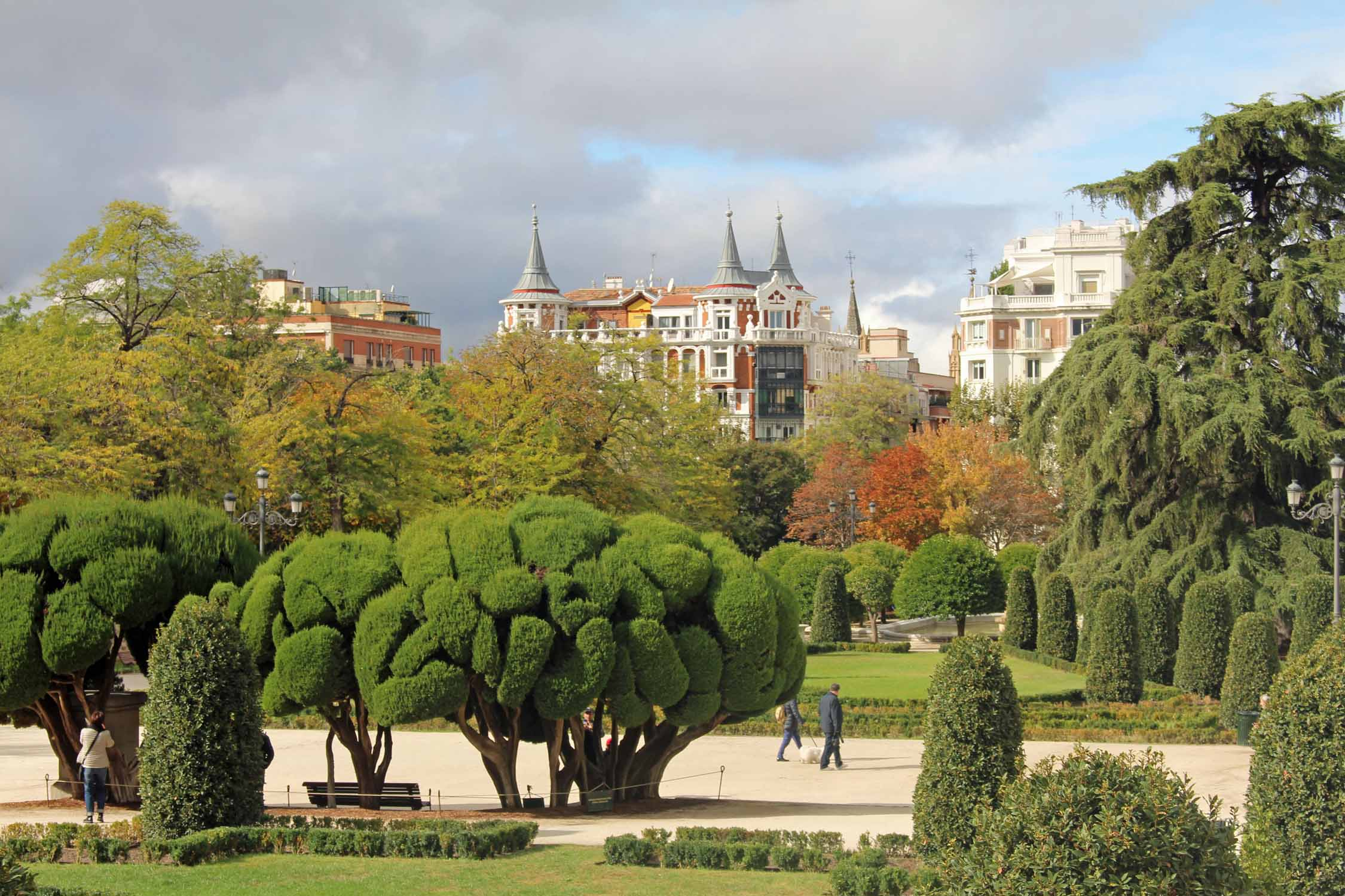 Madrid, Retiro park, Spain