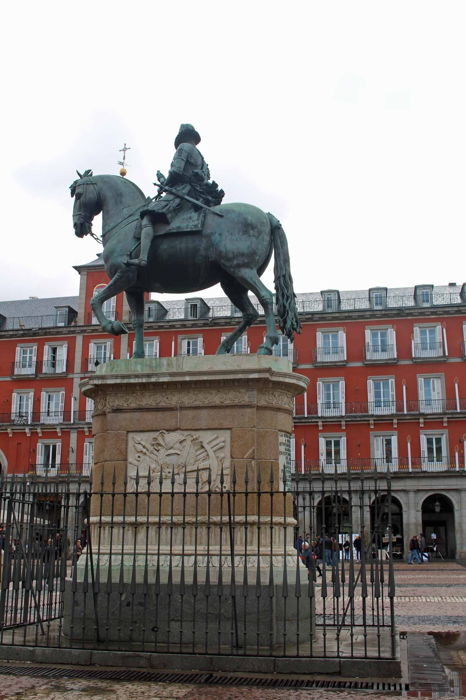 Madrid, Felipe III, estatua