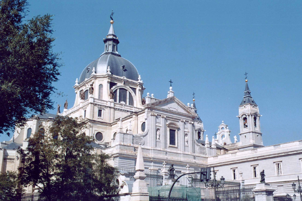 Madrid, cathedral Almudena