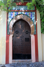 Moorish door