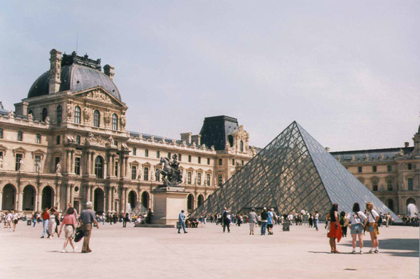 Paris, le Louvre