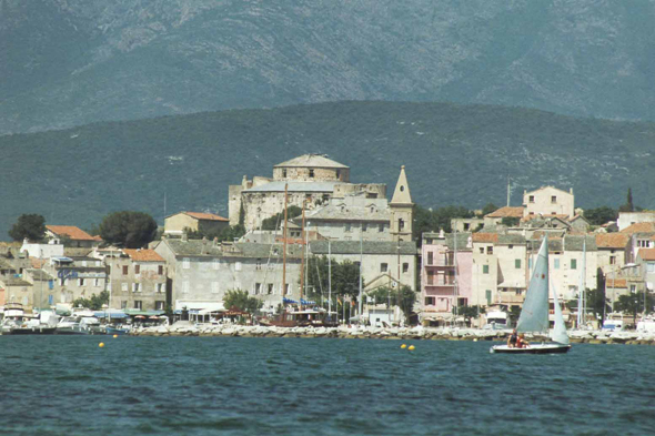 St-Florent, vista