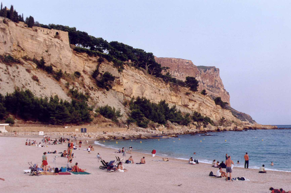 Cassis, plage