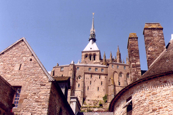 Mont-Saint-Michel, clocher