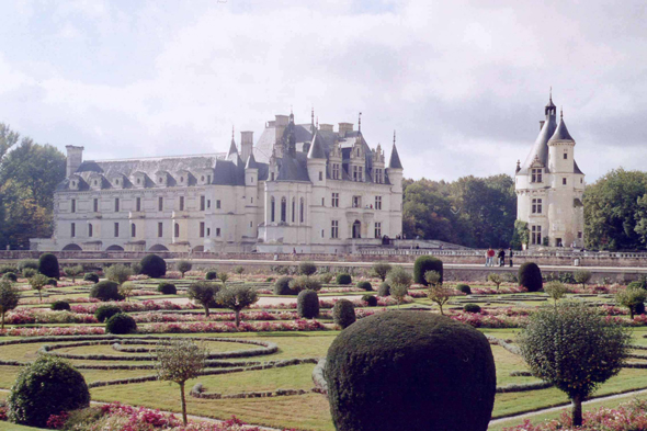 Chenonceau, gardens