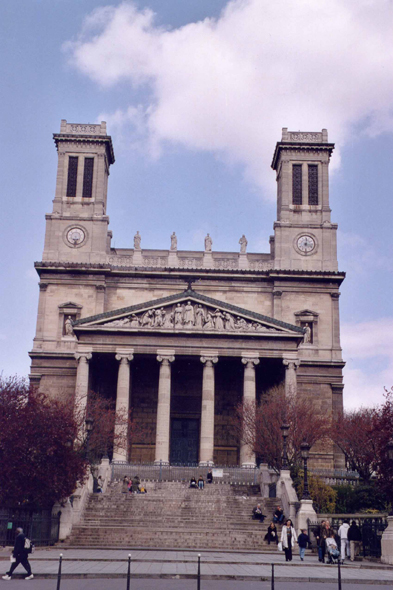 Paris, Saint-Vincent de Paul, church