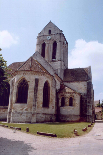 Auvers-sur-Oise, church