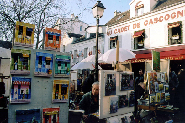 Paris, Place du Tertre, France