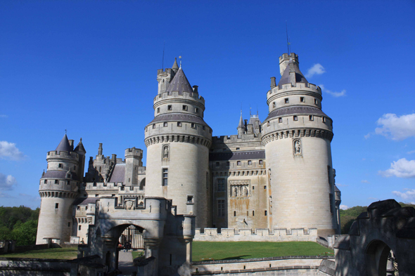Pierrefonds, castle