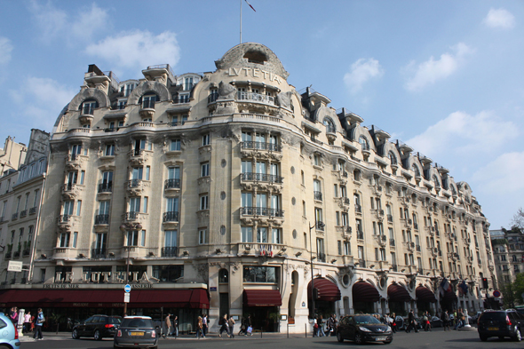 Paris, Hotel Lutecia, France