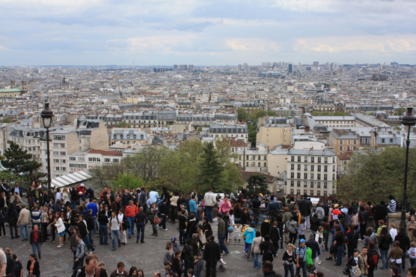 Paris, view