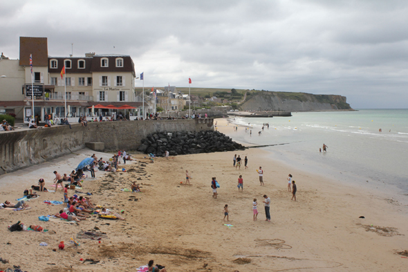 Arromanches, playa