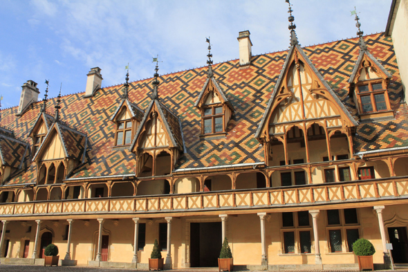 Hospices de Beaune, tejado
