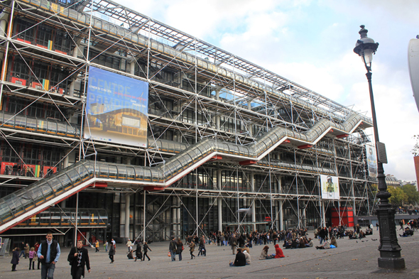 Beaubourg, Paris