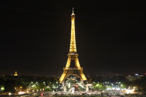 Paris, Tour Eiffel,, nuit