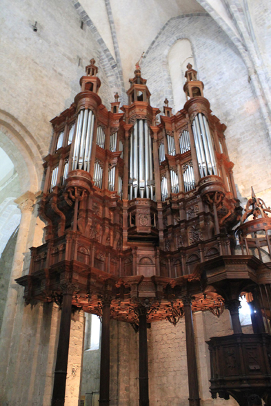Saint-Bertrand-de-Comminges, Sainte-Marie cathedral, organ